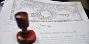 Format of Divorce papers in Pakistan