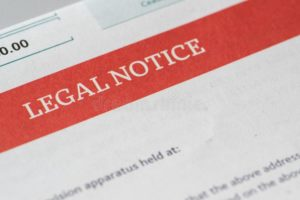 Legal Notice in Family Matter