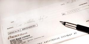 Issue Surety Cheque
