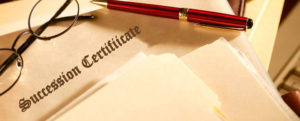 succession certificate